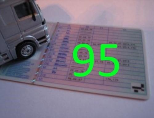 Eintrag in den Lkw-Führerschein – Schlüsselzahl 95