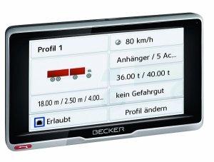 Navi mit Truck-Attributes