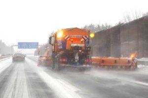 Winterdienst Autobahn